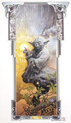 Art Nouveau Yoda