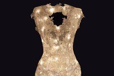 Étoile, un abito da Sposa di luce e pizzo, by Matthan Gori.
