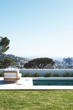 This Lion's Head home offers sweeping city views from the garden and pool area on the upper level.