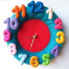 cute kids clock!