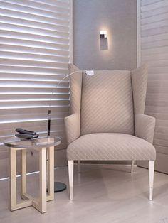 Interiors | J. Robert Scott Sarasota, Florida Wing Chair