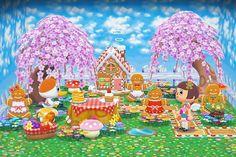 Animal Crossing Pocket Camp, Animal Crossing Qr, Tree Cookies, Deciduous Trees, Nintendo, Spring Summer, Bullet Journal, Outdoor Decor, Animals
