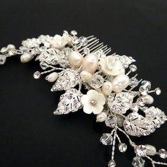 Wedding headpiece Bridal hair comb Rhinestone от TheExquisiteBride