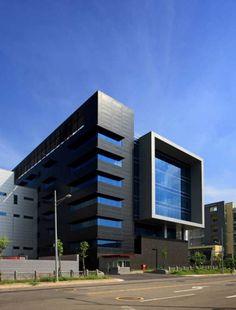 Huga Fab III and Headquarters Building / J. J. Pan & Partners