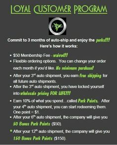 Our Loyal Customer Program is The BEST! Commit to 90 days and Ill Change YOur Life! Click the Link for more information