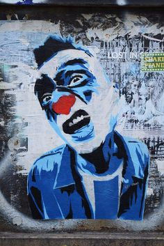 Artist: Mimi the Clown, Berlin, Hackescher Markt