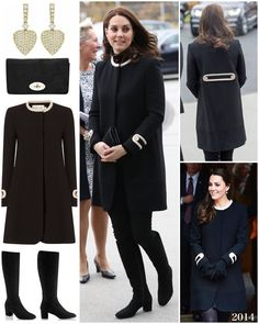 "3,727 Likes, 17 Comments - Catherine Duchess Of Cambridge (@katemidleton) on Instagram: ""The Duchess wore two very different outfits for today's engagements in Birmingham. Kate was back…"""