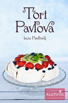 Tort Pavlova przepis | DOROTA.iN