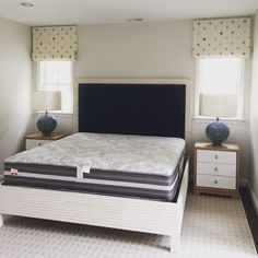 Can't wait to make this bed and finish off this beautiful bedroom.  #huntfamilyhome #chevychasemd #interiordesign  #ellascottdesign #interiordesign #design #interiors #residentialdesign #style #traditional #modern #hollisandknight #fabric #textiles #romanshade #bungalow5 #nightstand #masterbedroom #interior_insp #chevychasemd #chevychase #dcdesigner #designer #washingtondc
