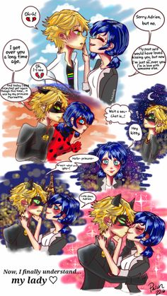 Miraculous Ladybug comic! I love how cringe worthy people become when they're in love. Except when I'm the one who's acting like that. Lol. Anyway, I made this comic as best as I could in the show'...