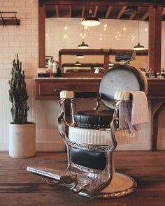 Vintage Barber Chair Pronto nuestra coleccion de sillas antiguas de ...