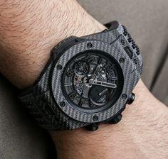 Hublot Big Bang Unico Italia Independent Watches In Texalium Hands-On Hands-On