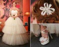 Vestido de noiva:  look de Julia Petit no Base Aliada - GNT