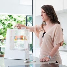 Mellow is a smart sous vide machine for your home.  Designed for busy food lovers, Mellow makes sous vide cooking a 5-minute step to fresh, delicious, healthy home cooked meals.