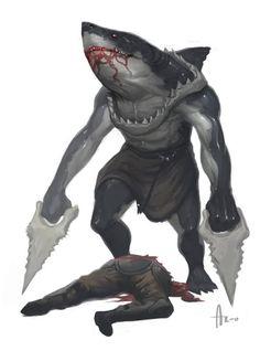 Sharkbarian!