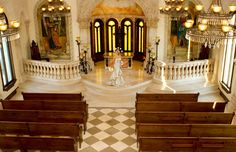 Bride Courtney in the Bella Donna Chapel captured by Karissa Knowles Photography