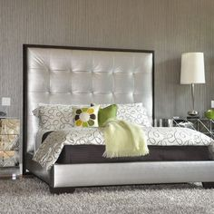 Hollywood Glam Bedroom Design,
