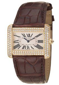 Cartier Tank Divan Men's Quartz Watch WA301170