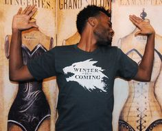 Winter is Coming.  Unisex/Men American Apparel sizes by evietees, $20.50