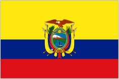 The flag of Ecuador! - where Young Living Academy is located.