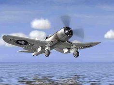 F4U Corsair World War II Fighter