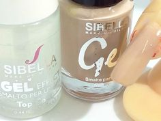 Esmalte Gel Beige Desnudo+Superior Capa Semipermanente No UV Moda Estate