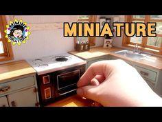 미니어쳐 촛불레인지 만들기 miniature - Candle cooker - YouTube