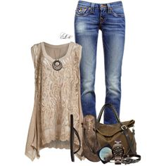 Untitled #842, created by tmlstyle on Polyvore