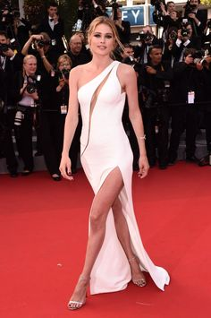 "2015 Cannes Film Festival - Doutzen Kroes attends the ""Standing Tall"" premiere and opening ceremony at the 68th Cannes Film Festival in France on May 13, 2015."
