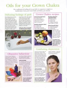 Young Living Essential Oils: Crown Chakra