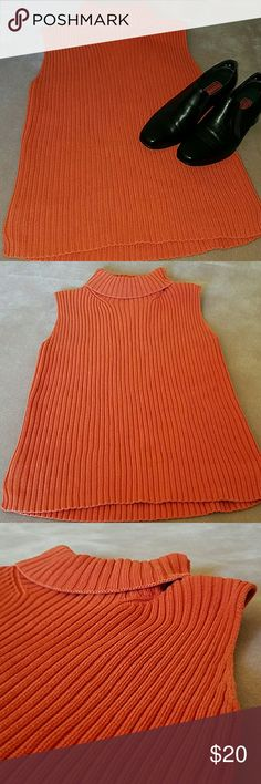 Sweater Tank Turtle Neck style Beautiful color GAP Tops