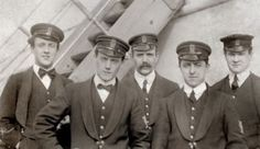 The Titanic musicians - all went down with the ship, playing their instruments until the end.