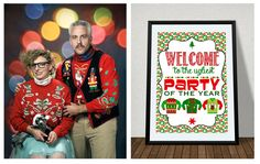 FREE Ugly Sweater Party sign! worldwideparty.it - worldwidemom.com