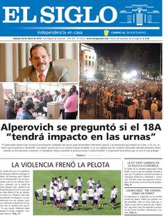 Diario El Siglo - Sábado 20 de abril de 20 13