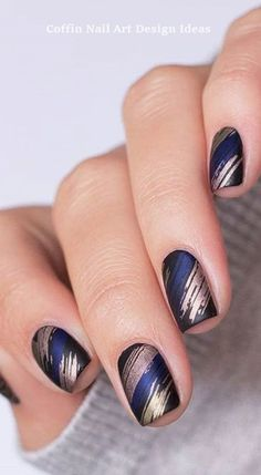 Best Winter Nail Art Ideas 2019 - Page 14 of 63 Best Winter Nail Art Ideas 2019 - Page 14 of 63 - womenselegance. Best Winter Nail Art Ideas 2019 - Page 14 of 63 - womenselegance. com Winter Nail Designs, Winter Nail Art, Winter Nails 2019, Gel Nail Art Designs, Trendy Nails, Cute Nails, Nagellack Design, Elegant Nail Art, Exotic Nails
