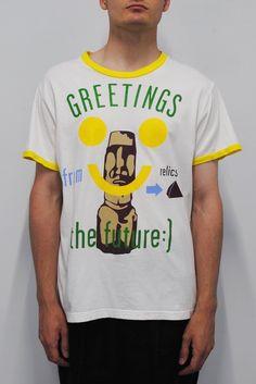 Walter Van Beirendonck <br> Easter Island T-Shirt