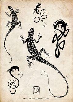 Wanting a small lizard tattoo for my beardie that past away. Gecko Tattoo, Lizard Tattoo, Small Lizards, Dibujos Tattoo, Lion Drawing, Bild Tattoos, Tattoo Project, Henna Tattoo Designs, Tattoos For Women Small