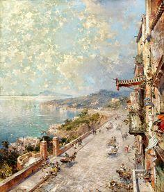 Franz Richard Unterberger | Romantic landscape painter | Tutt'Art@ | Pittura…