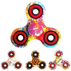 Tri-spinner Antiestrés Fidget Mano Dedo Rueda Spinner Como Función LIZUN Spinning Toy Estrés Cualquier dirección Stres Spiner juguetes