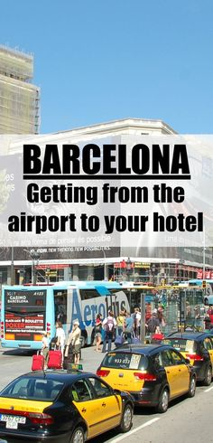What options are there to get from the airport to your hotel in Barcelona? We tell you how you can do it without needing a car seat!