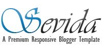 Sevida - Premium Responsive Blogger Template
