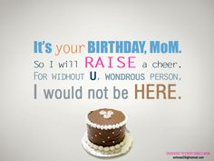 Image detail for -Mother Birthday Verses Poems Quotes   Happy Birthday Party Idea