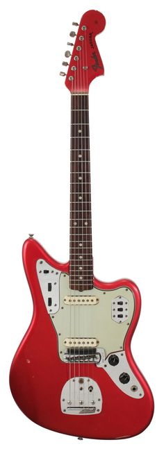 Fender Electric Guitar | Jaguar Candy Apple Red | Rainbow Guitars