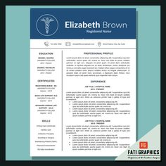 20 best medical resumes images nursing resume template cv