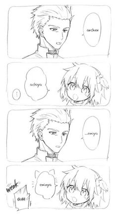 """Baby Gudako trying to say her servant name"" by@_n_a_m_o - Imgur"