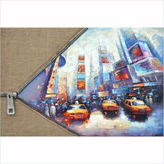 Yosemite Artwork - Unzip The City I - FCK8403E-1