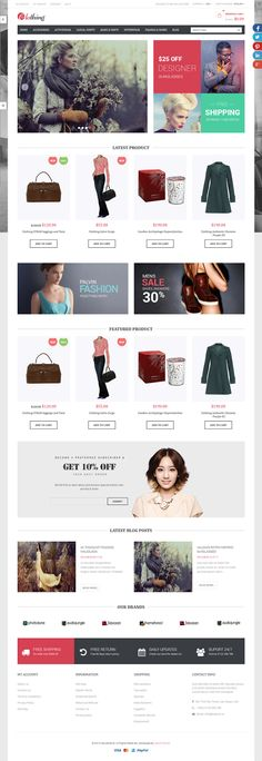 Venus Sun Style Store is a Responsive / Multiple Purpose Magento Template suitable for any kind of Fashion Shop, Glasses Shop, Furniture Store, Wall Store, Candles Store, Hightech Store, Gift Shop, Electronics shop and all kinds of #marketplace business that needs a feature rich and beautiful presence online. #eCommerce #webdesign