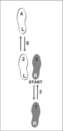 Basic Salsa steps for ladies