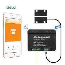 Relay Wifi Switch Remote Control Garage Door Opener Receiver Wifi Smart Receiver Galo Gate Opener Remote In 2020 Garage Doors Garage Door Opener Automatic Door Opener