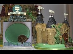 Mini Castle Cake Part 1 making the base How To Tutorial Zoes Fancy Cakes Zoes Fancy Cakes, Pie Crust Designs, Cake Youtube, Baby Shower, Specialty Cakes, Cake Decorating Tutorials, Cake Tutorial, Themed Cakes, Castle Cakes